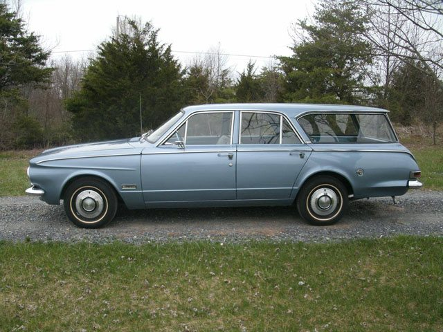 1963 Plymouth Valiant Staion Wagon 3