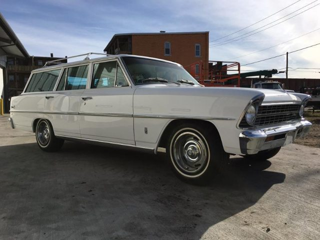 1967 Chevrolet Nova station wagon 1