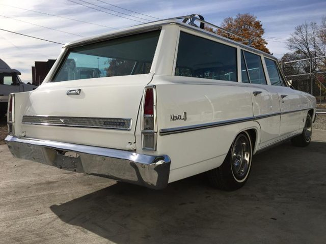 1967 Chevrolet Nova station wagon 7
