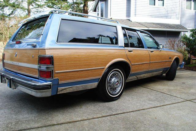 1988 Buick LeSabre station wagon 3