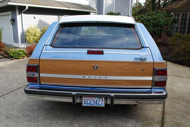 1988 Buick LeSabre station wagon 4