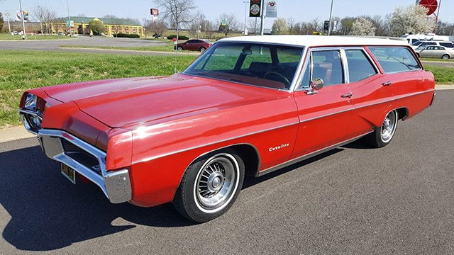 1967 Pontiac Catalina Station Wagon
