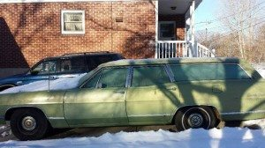 15,500 Miles: 1969 Ford Galaxie Country Sedan