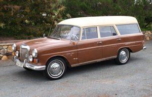 Rare Import: 1963 Mercedes-Benz Binz Kombiwagen