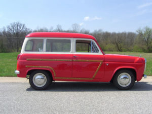 Across the Pond: 1957 Ford Squire
