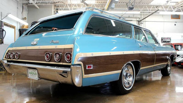 1968 Caprice station wagon