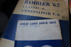 Once in a Lifetime Find: 4,052 Mile 1962 Rambler Classic