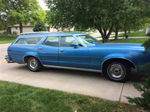 Big Bleu: 1977 Ford LTD II